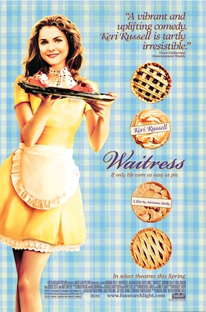 waitress movie poster.keri russell